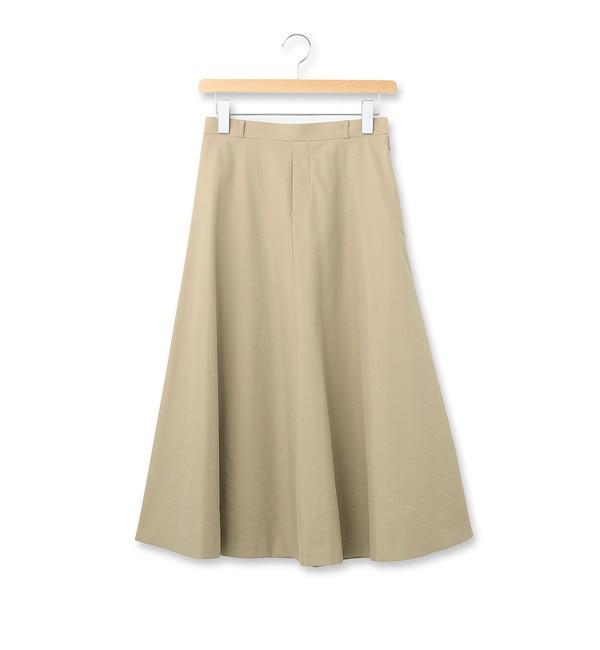 【グローブ/grove】 portcros ロングフレアAラインスカート [送料無料]