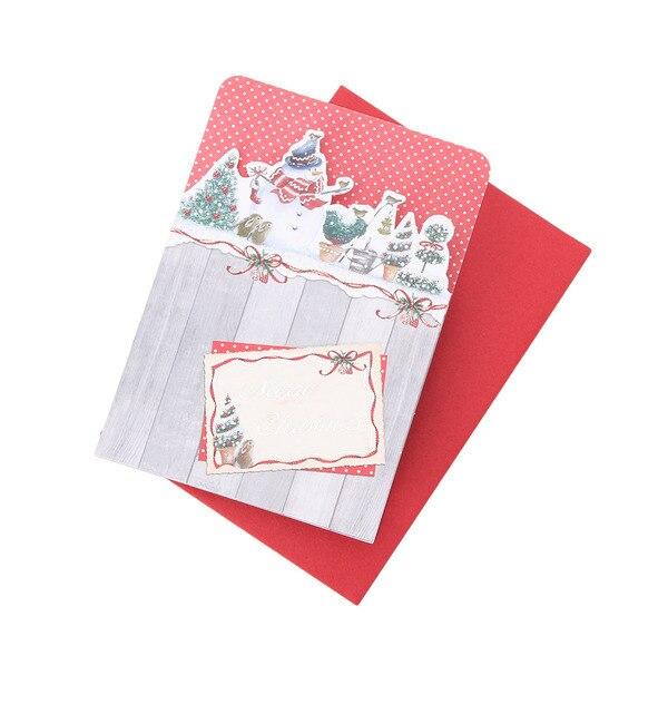 【グローブ/grove】 カジュアルクリスマスカード(型抜き) [3000円(税込)以上で送料無料]
