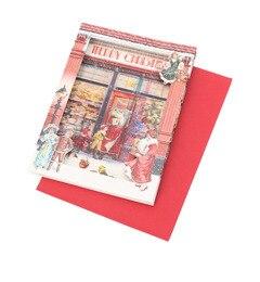 【グローブ/grove】 クラシカルクリスマス3Dカード [3000円(税込)以上で送料無料]