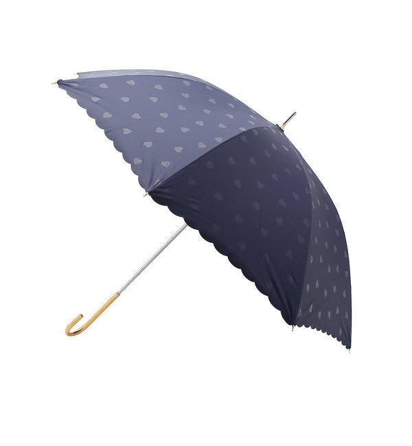 【グローブ/grove】 ハートドット遮光日傘 [3000円(税込)以上で送料無料]
