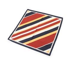 【グローブ/grove】レジメンタル柄スカーフ[3000円(税込)以上で送料無料]