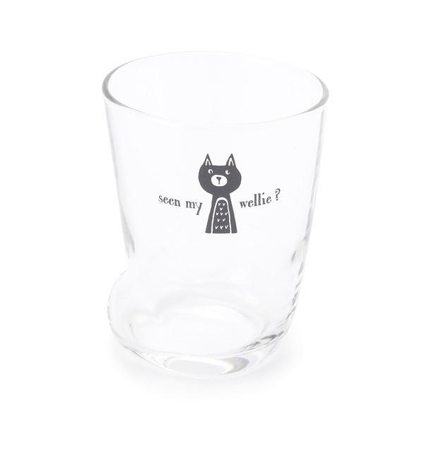 【グローブ/grove】 アニマルトーク ネコ足グラス(S) [3000円(税込)以上で送料無料]