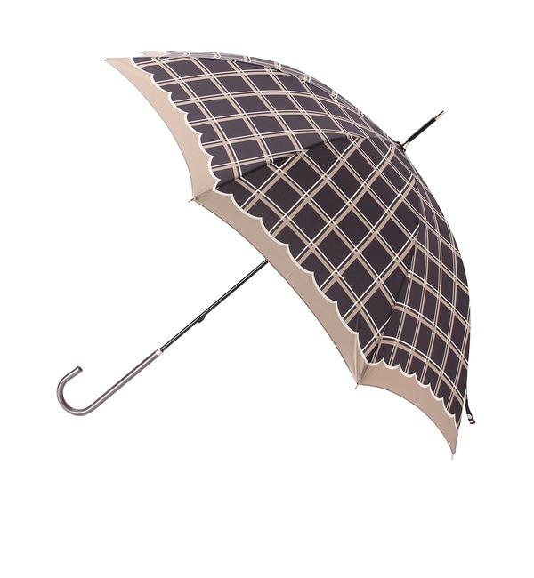 【グローブ/grove】 ウィンドペンチェック長傘 [3000円(税込)以上で送料無料]