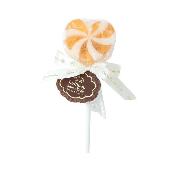 【グローブ/grove】 Sweets Maison ロリポップソープ(オレンジ&ハニー) [3000円(税込)以上で送料無料]