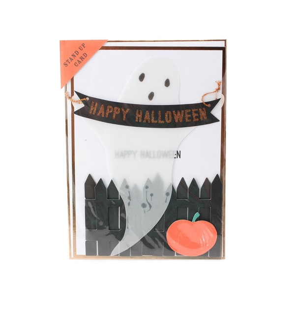 【グローブ/grove】 Meri Meri ゴーストメッセージカード [3000円(税込)以上で送料無料]