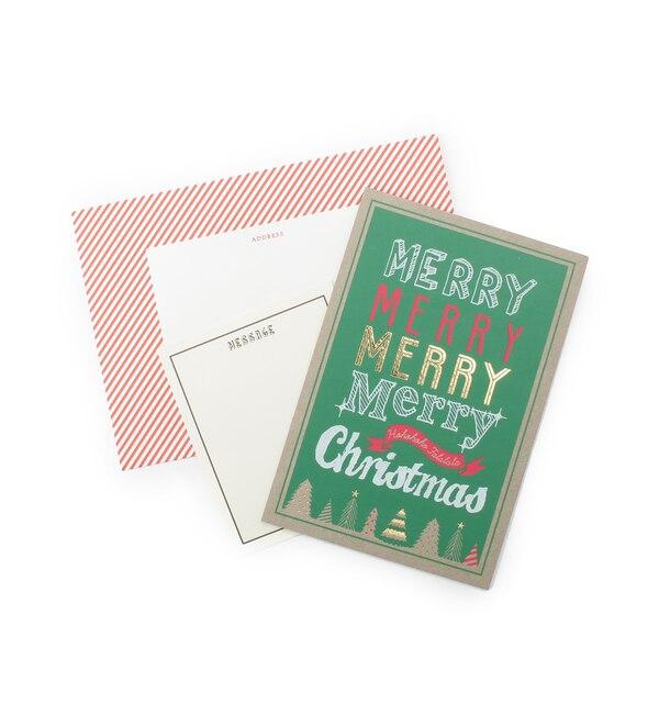 【グローブ/grove】 クリスマスカード(ペーパーボード)