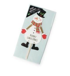 【グローブ/grove】 クリスマスカード(ペーパーパペット) [3000円(税込)以上で送料無料]