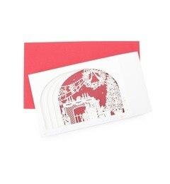 【グローブ/grove】 レーザーカット クリスマスカード [3000円(税込)以上で送料無料]