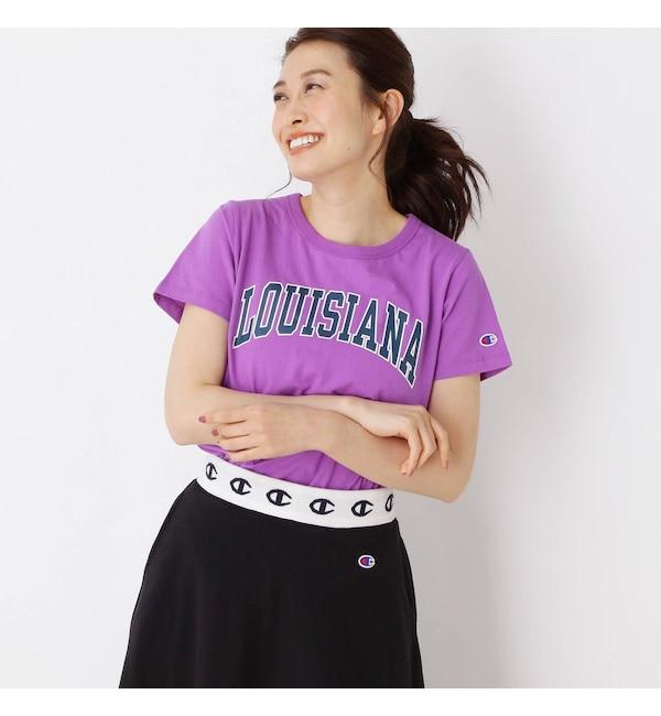 【グローブ/grove】 Champion プリントTシャツ