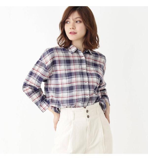 【グローブ/grove】 アソートチェックシャツ