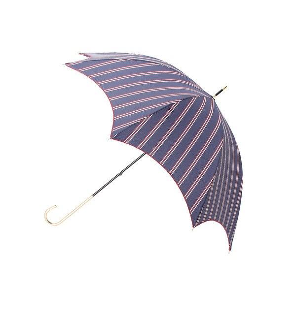【スープ/SOUP】 斜めストライプ長傘(晴雨兼用) [3000円(税込)以上で送料無料]