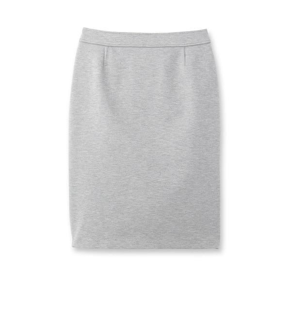 【インディヴィ/INDIVI】 パイピングジャージタイトスカート [送料無料]