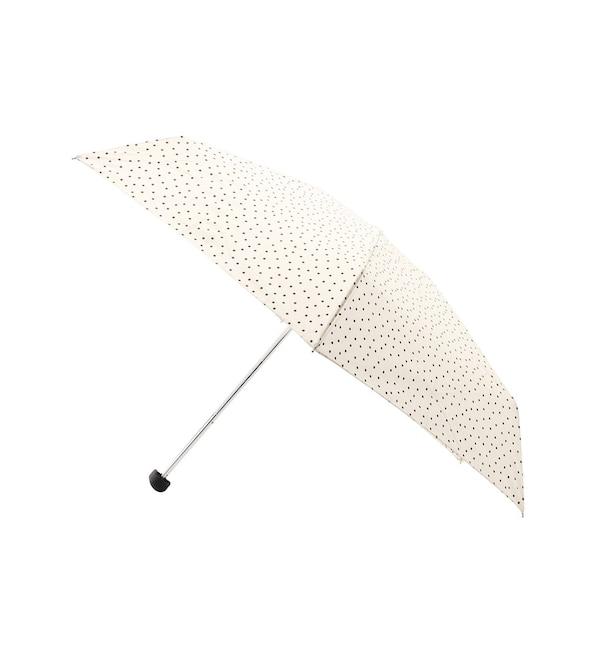 【インディヴィ/INDIVI】 ドット折り畳み傘