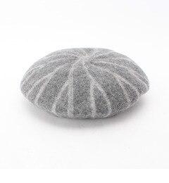 【タケオキクチ/TAKEO KIKUCHI】 ストライプウールベレー帽 [送料無料]