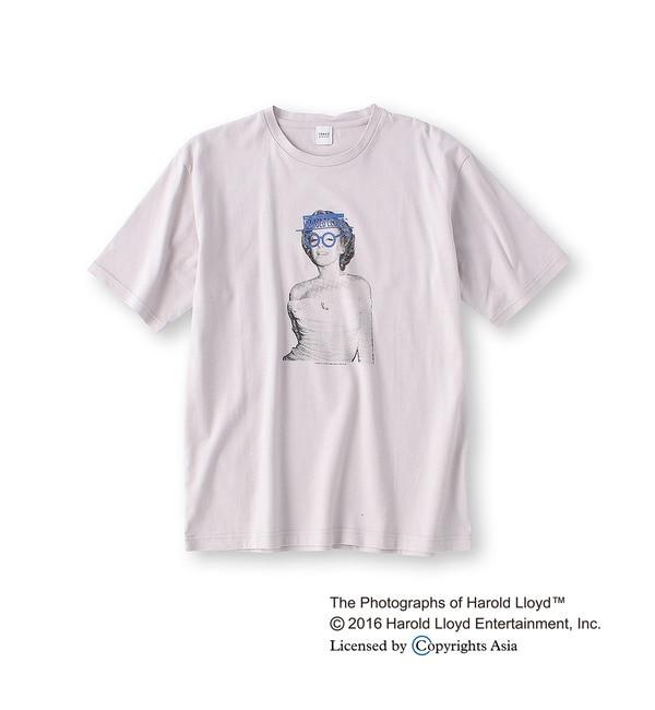 【タケオキクチ/TAKEO KIKUCHI】 ハロルド・ロイドコラボTシャツ [送料無料]