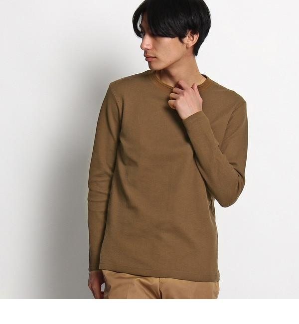 【タケオキクチ/TAKEO KIKUCHI】 ハニカムフェース ロングTシャツ [送料無料]