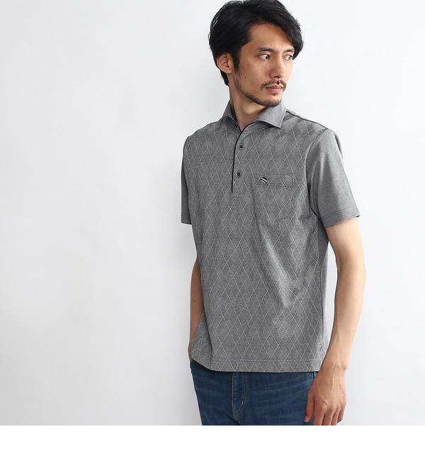 【タケオキクチ/TAKEO KIKUCHI】 アーガイルポロシャツ [送料無料]