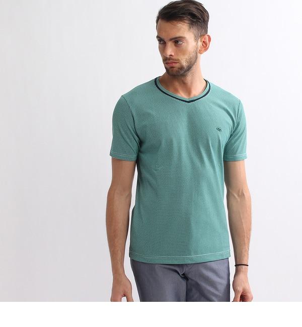 【タケオキクチ/TAKEO KIKUCHI】 VネックTシャツ [送料無料]