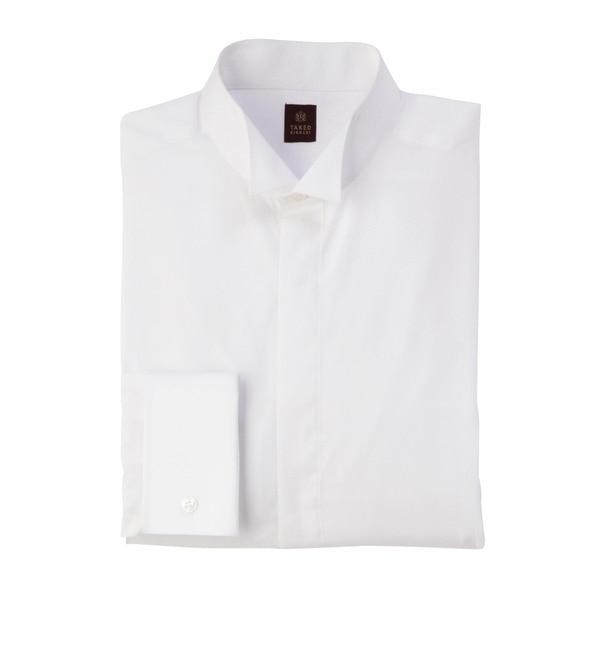 【タケオキクチ/TAKEO KIKUCHI】 ツイルドレスシャツ [送料無料]