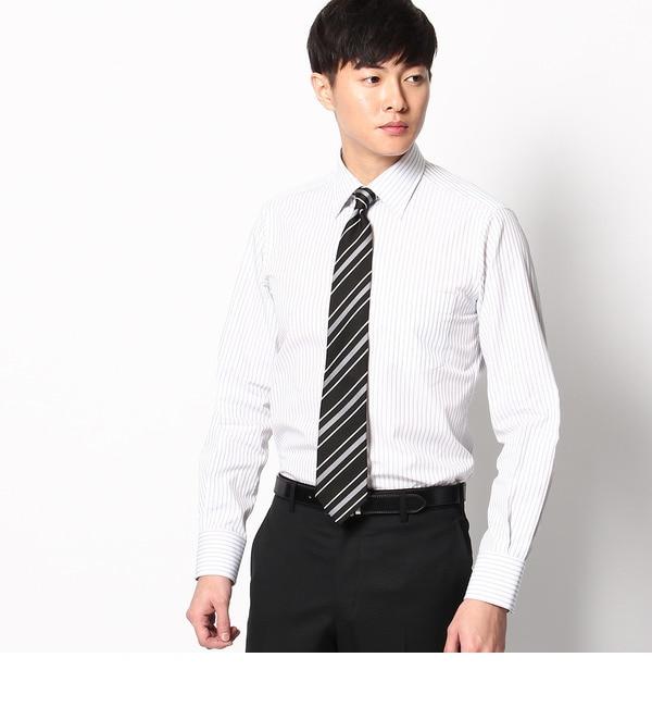 【タケオキクチ/TAKEO KIKUCHI】 ツイルカラーストライプ レギュラーカラーシャツ [送料無料]