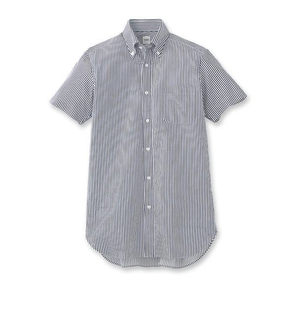 【タケオキクチ/TAKEO KIKUCHI】 カラミストライプボタンダウンシャツ [送料無料]