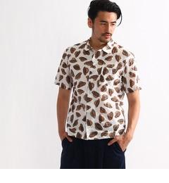 【タケオキクチ/TAKEOKIKUCHI】リップルボーダーシャツ[送料無料]