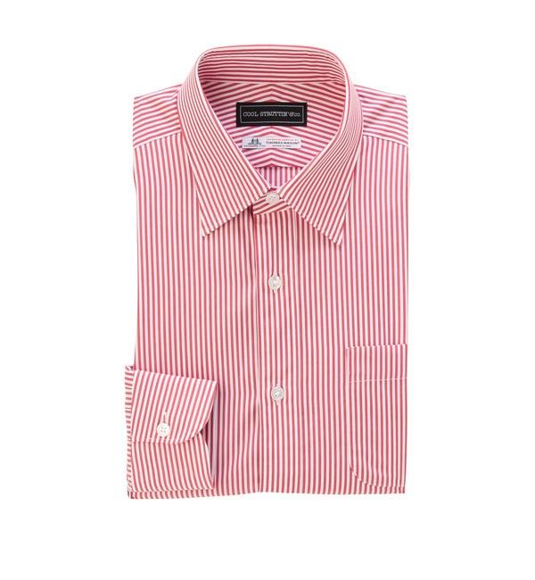 【タケオキクチ/TAKEO KIKUCHI】 THOMAS MASON ストライプドレスシャツ [送料無料]