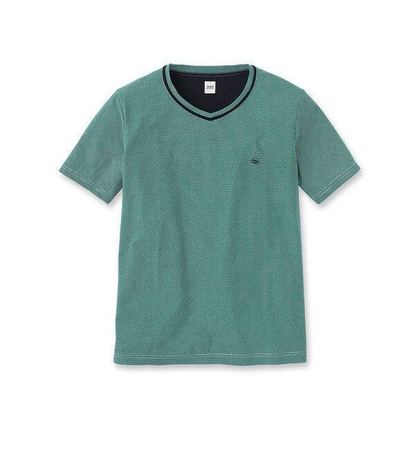 【タケオキクチ/TAKEO KIKUCHI】 [EXTRAサイズ]VネックTシャツ [送料無料]