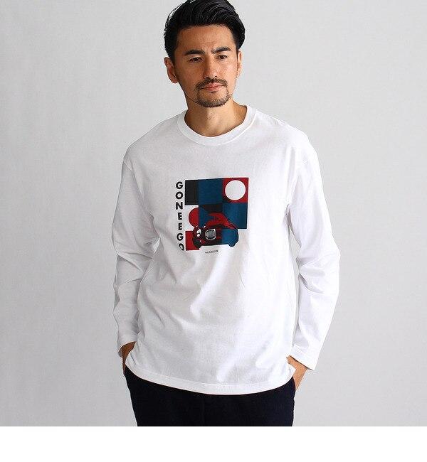 【タケオキクチ/TAKEO KIKUCHI】 カーグラフィック長袖Tシャツ [送料無料]