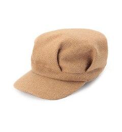 【タケオキクチ/TAKEO KIKUCHI】 ヘリンボンツィードワークキャップ雑貨-帽子 [送料無料]
