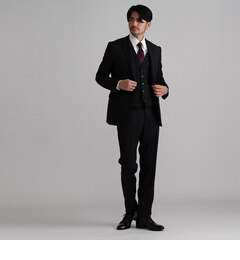 【タケオキクチ/TAKEO KIKUCHI】 ドーメルシャドーストライプシングルスーツ [送料無料]