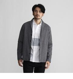 【タケオキクチ/TAKEO KIKUCHI】 ショールカラーラッセルカーディガン [送料無料]