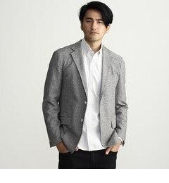 【タケオキクチ/TAKEO KIKUCHI】 メランジジャージテーラードジャケット [送料無料]