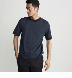 【タケオキクチ/TAKEO KIKUCHI】 【日本製】ベーシックサマーニットTシャツ [送料無料]