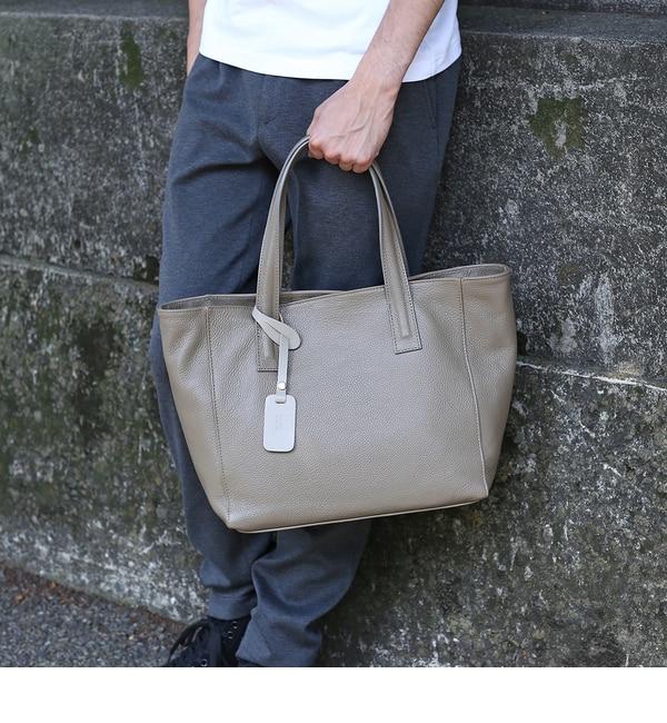 【タケオキクチ/TAKEO KIKUCHI】 【 WEB 限定 】 イタリアンレザートートバッグ [ メンズ バッグ トート レザー ] [送料無料]