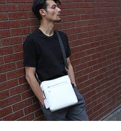 <アイルミネ> タケオキクチ厳選 イタリアンレザーショルダーバッグ [ メンズ バッグ ショルダー レザー ] [送料無料]画像