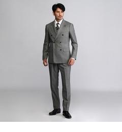 【タケオキクチ/TAKEO KIKUCHI】 ヘリンボンミルド3Pスーツ【Product Notes Japan】 [送料無料]