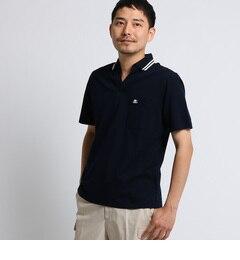 <アイルミネ>【タケオキクチ/TAKEO KIKUCHI】 マリンラインスキッパーポロシャツ [ メンズ ポロシャツ ]画像