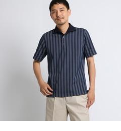 <アイルミネ>【タケオキクチ/TAKEO KIKUCHI】 五線譜ストライプポロシャツ [ メンズ ポロシャツ ]画像