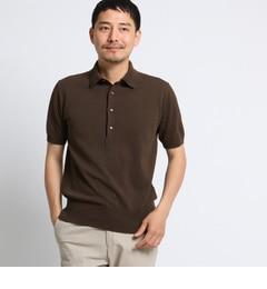<アイルミネ>【タケオキクチ/TAKEO KIKUCHI】 【 PNJ 】 カゴメニットポロシャツ [ メンズ ポロシャツ ]画像
