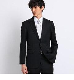 <アイルミネ> タケオキクチ厳選 サージシングルジャケット[ メンズ スーツ 結婚式 ] [送料無料]画像
