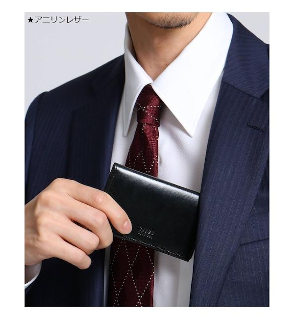 【タケオキクチ/TAKEO KIKUCHI】 【 WEB限定 】 選べる ブラック レザー 名刺入れ