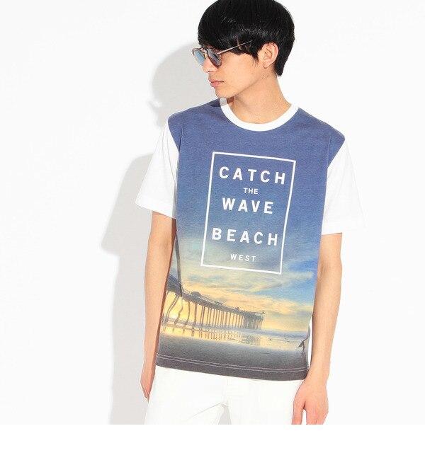 【ティーケー タケオキクチ/tk.TAKEO KIKUCHI】 サマープリントTシャツ [3000円(税込)以上で送料無料]