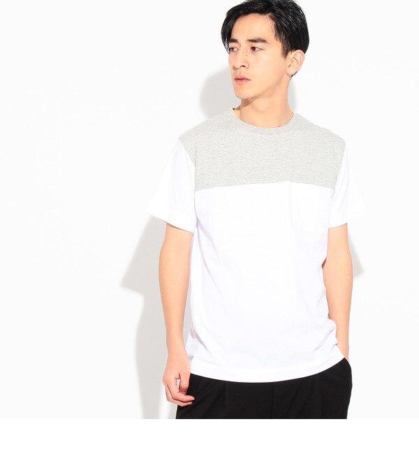 【ティーケー タケオキクチ/tk.TAKEO KIKUCHI】 【ANTI SWEAT STAINING】バイカラーTシャツ [3000円(税込)以上で送料無料]