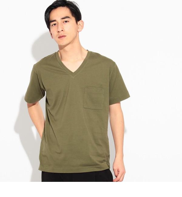 【ティーケー タケオキクチ/tk.TAKEO KIKUCHI】 【ANTI SWEAT STAINING】VネックTシャツ [3000円(税込)以上で送料無料]