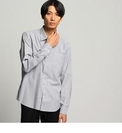 【ティーケー タケオキクチ/tk.TAKEO KIKUCHI】 ストライプ刺し子ドットシャツ [送料無料]