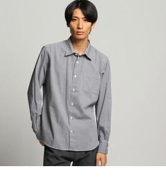 【ティーケータケオキクチ/tk.TAKEOKIKUCHI】ギンガム刺し子ドットシャツ[送料無料]