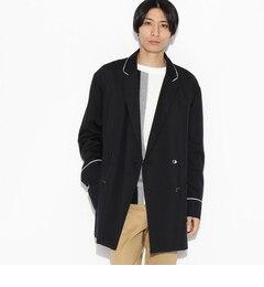 【ティーケータケオキクチ/tk.TAKEOKIKUCHI】ダブルビッグパジャマジャケット[送料無料]