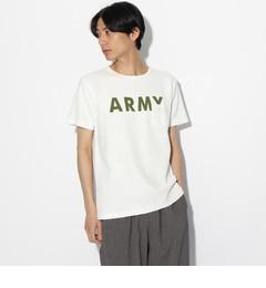 【ティーケータケオキクチ/tk.TAKEOKIKUCHI】ALPHAJACQUARDロゴTシャツ[送料無料]
