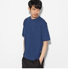 【ティーケータケオキクチ/tk.TAKEOKIKUCHI】シアサッカーポケットTシャツ[送料無料]